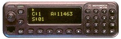 Identification des Motorola MC-2100